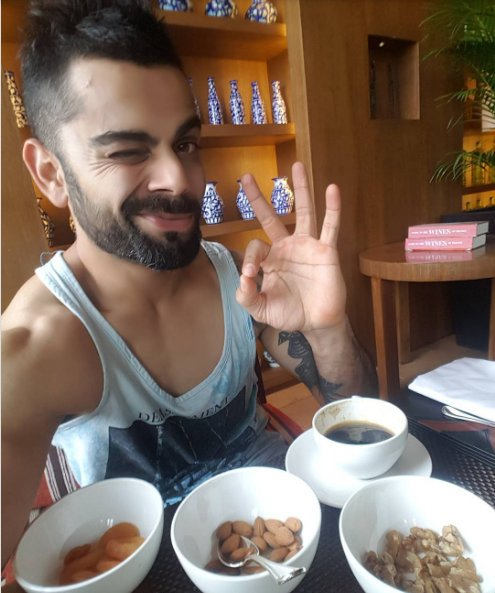 Virat Kohli - What Do Cricketers Eat And Drink?
